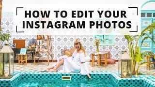 HOW TO EDIT YOUR INSTAGRAM PHOTOS - Lightroom + Photoshop Presets & Tutorial
