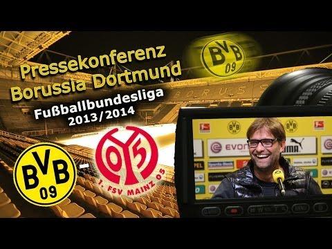 BVB Pressekonferenz : Borussia Dortmund - 1. FSV Mainz 05 : Pk mit Jürgen Klopp
