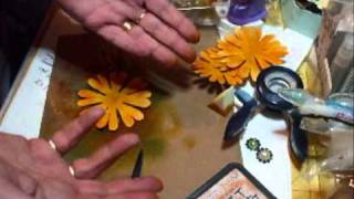 How to make the Yellow Sunflower Tutorial - jennings644
