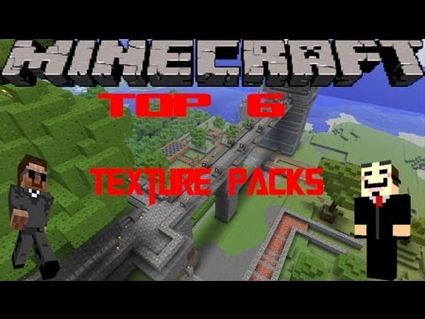 Minecraft Top 6 Texture Packs [1.5.2] + Download [HD] (German/Deutsch)