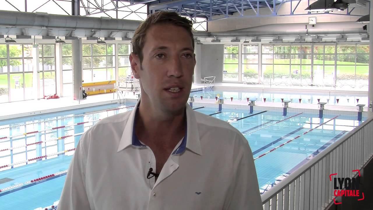 Alain bernard le champion olympique la piscine de bron for Piscine alain bernard