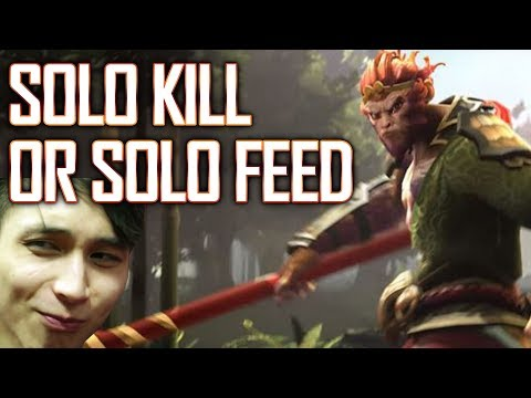 SOLO KILL OR SOLO FEED - SingSing Dota 2 Highlights