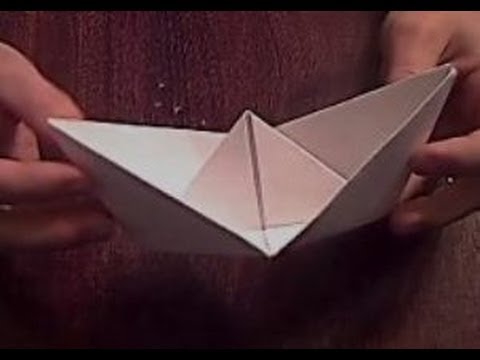 How to Make an Easy Origami Boat  thesprucecraftscom