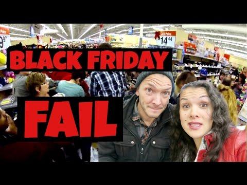 BLACK FRIDAY FAIL, SHE BROKE THE CAMERA