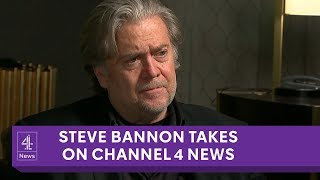 Steve Bannon interview on Europe's far-right and Cambridge Analytica