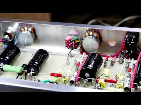 Small Tube Amp Build - Step by Step (7 - Pots, Switches, Small Demo)