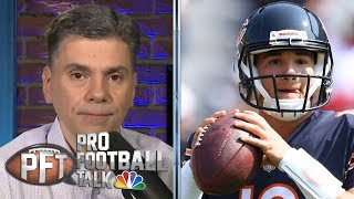 PFT Overtime: Trubisky's confidence, Antonio Brown's work ethic | Pro Football Talk | NBC Sports