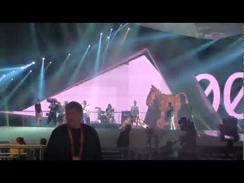 Eurovision 2012 First Rehearsal Montenegro
