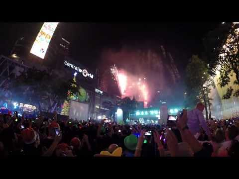 GoPro : New Year 2014 in Bangkok – Central World ! Short version