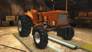 Szereljnk traktort  Farm Mechanic Simulator 2015 1