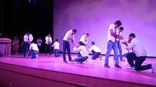 standing boyz funny dance
