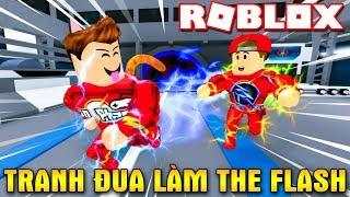 Roblox | KIA VÀ VAMY TRANH ĐUA ĐỂ TRỞ THÀNH THE FLASH - Speed Simulator | KiA Phạm