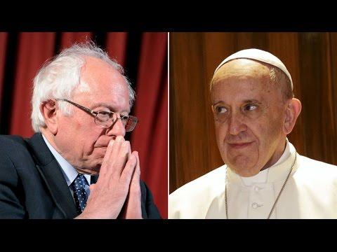 Bernie Sanders Pope Visit Brings Vatican Controversy