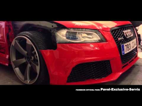 TUNING - AUDI A3 - WITH FLACHWERK