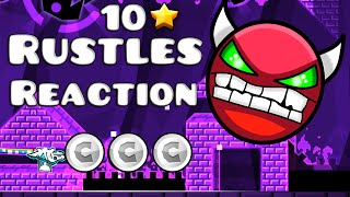 Geometry Dash (2.0) - Rustles Reaction by Rustle (DEMON)