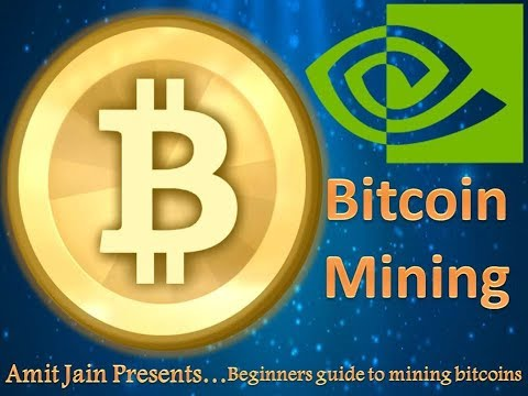 Bitcoin Kaise Mine karen Apne Computer se? Hindi/English How To Mine BITCOIN With Your Nvidia GPU