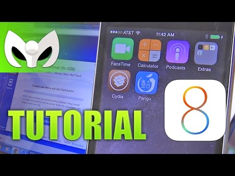 Jailbreak iOS 8 (TUTORIAL NOVATO) en 9 Simples Paso