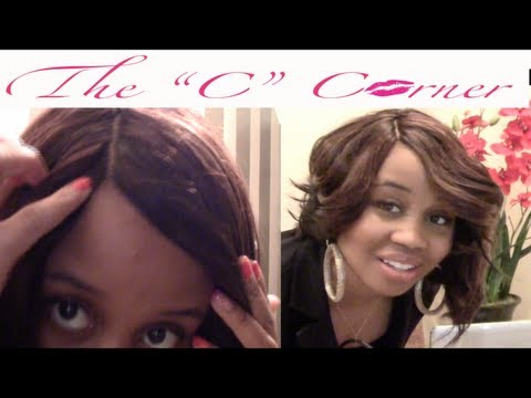 How to Make an Invisible Part Wig With Asymmetrical Bob 1st Part On The CGTV Hair Review