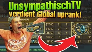 CS:GO UnsympathischTV absolut verdientes Global Uprank Match :^)