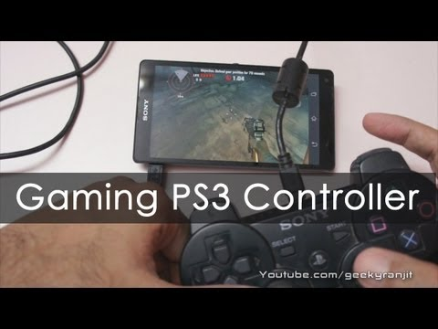 Gaming with PS3 Controller on Xperia Z / ZL Without ROOT