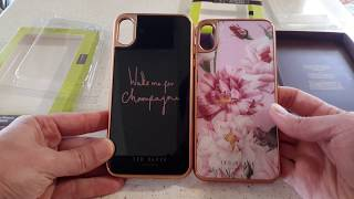 TED BAKER cases for iPhone XS MAX
