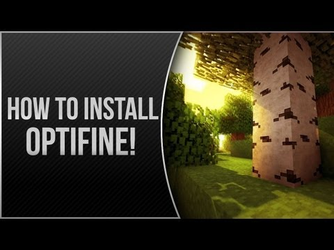Minecraft 1.7! - How to Install OptiFine Mod for Minecraft 1.7