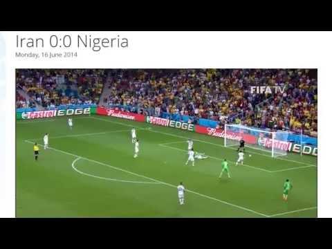 Iran 0-0 Nigeria All Goals & Highlights HD ( FIFA World Cup Brasil 2014)
