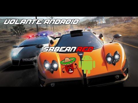 Usando o Android como volante
