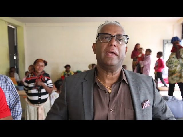 ESAT Special: Activist Tamagne Beyene visits people displaced from Burayo.