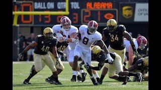 Alabama vs Vanderbilt 2017 Highlights