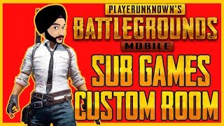 🔴 PUBG MOBILE - PLAYING WITH SUBSCRIBERS - CUSTOM ROOM 🔴