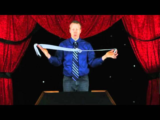 How To Do Magic Tricks With Just A Tie