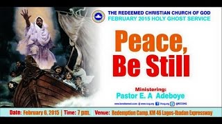 FEBRUARY 2015 HOLY COMMUNION SERVICE