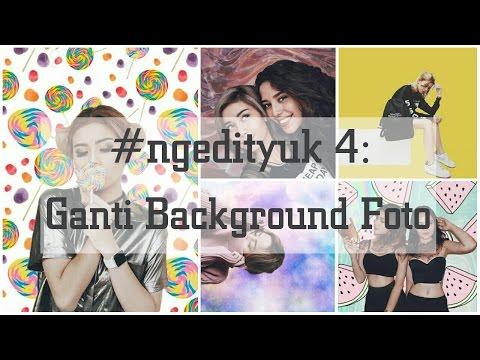 Cara Mengganti Background Foto ala Instagram Awkarin. Gampang! (PicsArt)