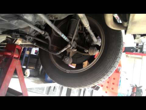 2002 Toyota Camry Evap canister replacement.