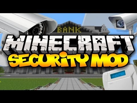 Minecraft: SECURITY SYSTEMS! (SecurityCraft) | Mod Showcase
