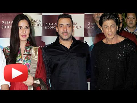 Salman Khan, Katrina Kaif, Shahrukh Khan Attend Baba Siddiqui's Iftaar Party 2016