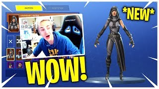 NINJA REACTS TO *NEW* SKINS! (Fortnite Epic and Funny Moments) Fortnite Live Stream