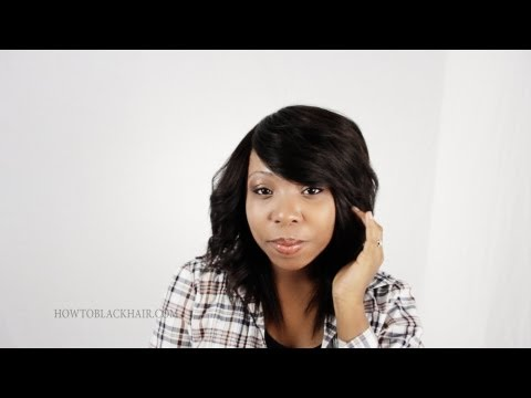 Invisible Part Sew In Weave on Natural Hair No Glue Tutorial Supplies Part 1