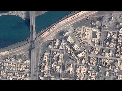 Satellite Imagery: The Islamic State Wreaks Havoc on Mosul's Bridges