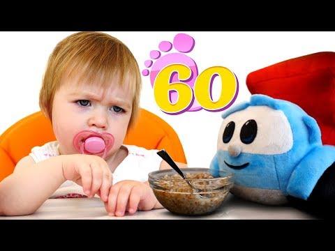 Бьянке не понравились тефтели - Привет, Бьянка! - Ужин для детей.