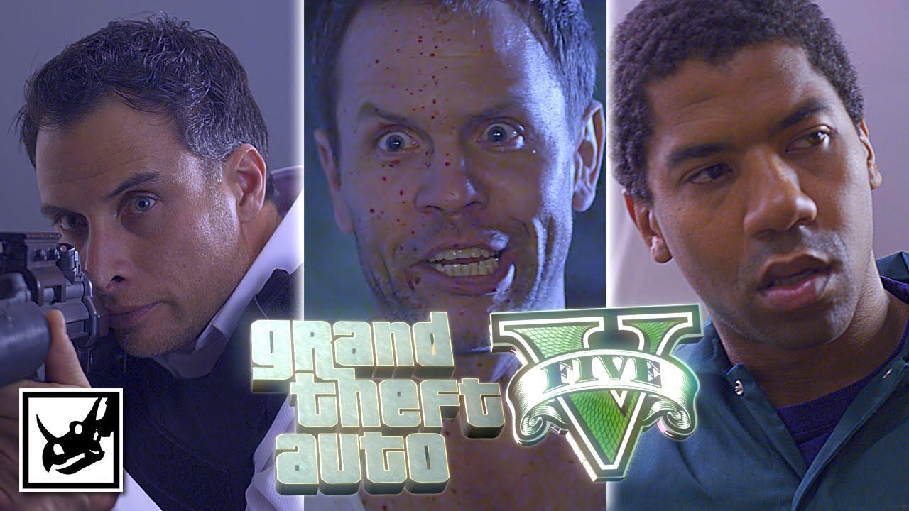Grand Theft Auto V Lucid Live Action Gta V Movie