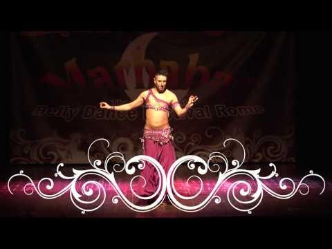 Zadiel Sasmaz male belly dancer  Marhaba Belly Dance Festival...