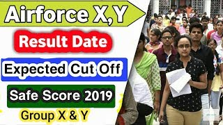 Airforce X,Y Group Cut off 2019 || Airforce x group previous year cut off