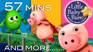 London Bridge Is Falling Down Compilation | Little Baby Bum | Nursery Rhymes for Babies