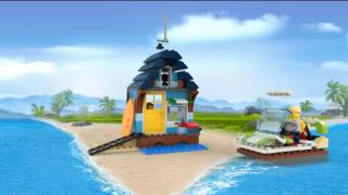 9959416 LEGO CREATOR 3in1 ProductAnimation 31063 Beachside Vacation  WithOutro
