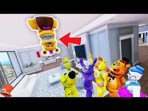 THIS WILL SCARE YOU! (GTA 5 Mods For Kids FNAF RedHatter)