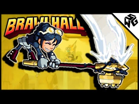 Scarlet 1v1 Funny Moments & Clips! - Brawlhalla Gameplay :: Playin Some Hammer