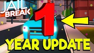 ROBLOX WAITING FOR UP JAILBREAK 1 YEAR UPDATE! 10,000 CASH! SIMON SAYS  | Roblox Live Stream
