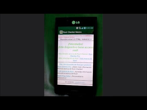 Rootear LG L7 P708g Y Otros Modelos LG Optimus